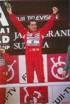 Ayrton Senna Magic Immortal: A maioria dos jornalistas ficaram desapontados que Senna havia vencido seu primeiro campeonato em 1988