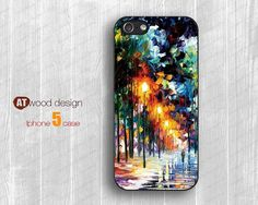 IPhone 4 case iphone 5 cases Rubber case  painting by Atwoodting, $6.99
