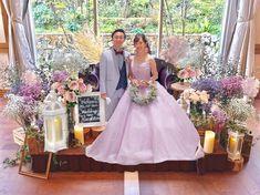 """w a k a k o ☺︎ on Instagram: """"2019.08.04 * わたしの大好きな高砂💐💕 (加工なしです🙂) 日々同じような投稿すみません💦 * * ストーリーにも書いた通り ほんとう〜〜にお花屋さんが センスも最高すぎるし優しすぎて。。🥺💓 ララシャンスってほんと高くて お金バシバシ飛んでっちゃうけど…"""" Girls Dresses, Flower Girl Dresses, Wedding Dresses, Flowers, Instagram, Fashion, Dresses Of Girls, Bride Dresses, Moda"""