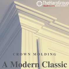 Love crown molding? So do we!😍 Check our our new blog post for more! Classical Greece, Classical Antiquity, Picture Frame Wainscoting, Picture Frames, Chair Rail Molding, Roman Architecture, Parthenon, Crown Molding, Next At Home