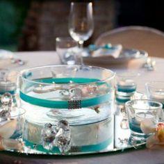Allestimento tavoli matrimonio color Tiffany