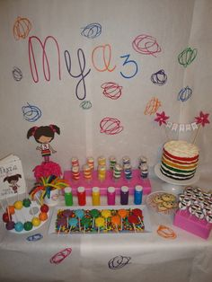 """Photo 1 of 32: Art Coloring Party / Birthday """"Mya's """"Color Me Happy"""" Birthday"""" 