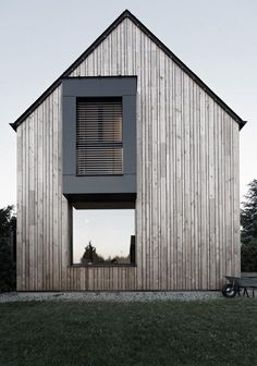 wood glass barn