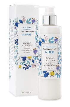 Terranova Aire #BodyLotion with Hydrating White Tea and Aloe, 8.45 fl oz