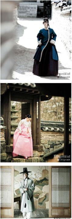 in Korean dress hanbok 2