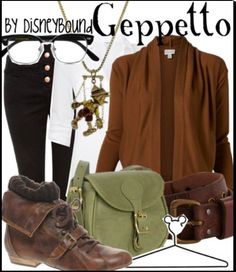 Geppetto fashion from Pinocchio