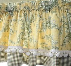 Blue And Yellow Curtains Waverly