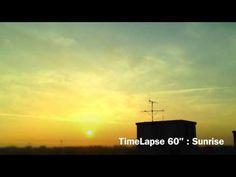 "TimeLapse 60"" : Sunrise in Jeju city | 타임랩스 : 제주시에서 본 일출"