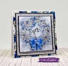 Crafters Companion Christmas Cards, Christmas Trees, Xmas, Signature Collection, Winter Wonderland, Snowflakes, Card Ideas, Projects To Try, Card Making