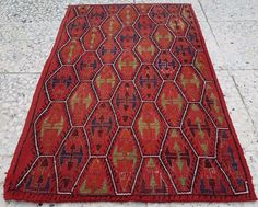 Vintage Turkish Rugs,Handwoven Yastik,Table Decor Mini Cicim Kilim Rug,Bath Mat #CentralOriental #TraditionalPersianOriental