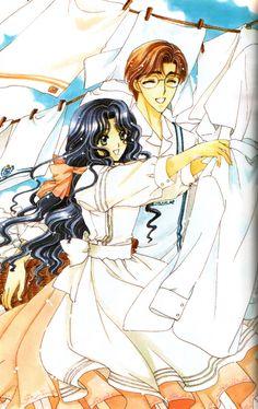 Sakura's mother and father - Cardcaptor Sakura