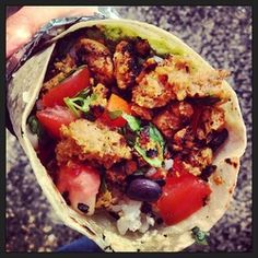 Photo's Vegan Catering, Vegan Burrito, Burritos, Gypsy, Vegan Recipes, Ethnic Recipes, Food, Gourmet, Breakfast Burritos