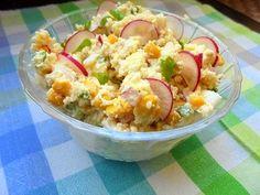 Szefowa w swojej kuchni. ;-): Dietetyczna sałatka z kaszą kuskus