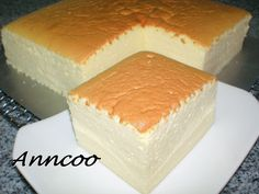 Japanese Cotton Cheese Cake | Anncoo Journal