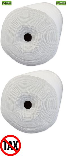 """60/"""" Wide Pellon Quilters Touch 100 Percent Polyester Batting 20 Yard Roll"""