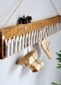"""Милые сердцу штучки: Новогодний декор: """"Креативные календари адвента"""""""