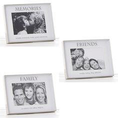 "Plain Silver Satin 5/"" x 7/"" Classic Photo Picture Frame Gift Present By Shudehill"