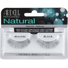 Ardell Natural Lashes Beauties Black #65020
