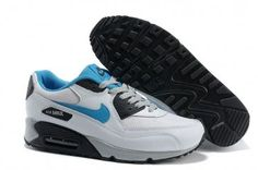 Nike Air Max 90 Mens White/Neo Turquoise-Obsidian Shoes