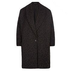 yes please!  All Saints Leopard Klein coat