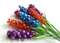 Cómo hacer flores de goma eva |paso a paso