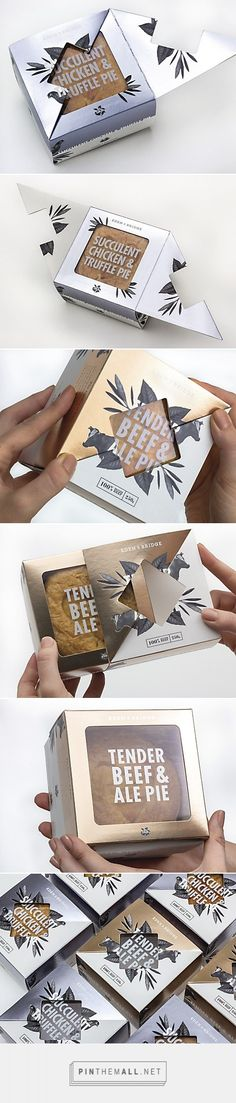 Eden & Bridge pies by Fable & Co. Source:Communication Arts. Pin curated by #SFields99 #packaging #design