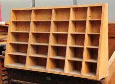 Aufsatz für Setzkastenschrank Schubladenschrank Druckereischrank Setzkasten  | Antiquitäten & Kunst, Alte Berufe, Buchdrucker & Buchbinder | eBay!