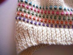 Hand Knitted 3M to 6M New Retro Inspired Dottie by doverandmadden
