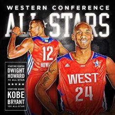 LA Lakers  - 2013 NBA All-Stars