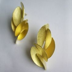 Kayo Saito: Long Butterfly Earrings