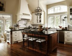 Elegant Rustic Kitchen - Lisa Petrole Photography   Country Kitchen