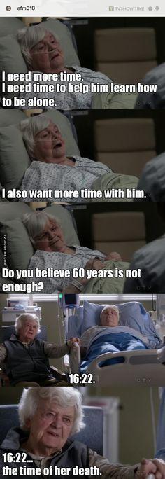 Grey's Anatomy S13E17 This broke my heart. Poor guy