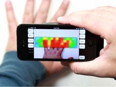 IR Blue : 新スマートフォンアクセサリー!スマートフォン用サーモグラフィカメラ