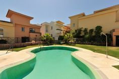Townhouse for Sale in Alhaurin Golf, Costa del Sol - If you like golf, quiet, open scenery and a level of quality of a superior standard, this is a property that should tick the boxes. Two good sized bedrooms, a spacious living room, excellent kitchen and huge sunny terraces.