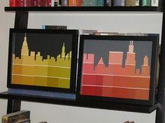 Colour chip pictures