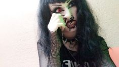 Floating Nomad How To Draw Eyebrows, Goth Makeup, Scene Girls, Body Modifications, Body Mods, Beautiful People, Piercings, My Style, Septum