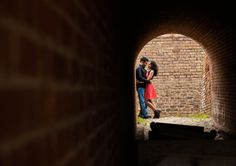 Fort Clinch Fernandina Beach Florida | Fort Engagement Shoot | Jacksonville Engagement Session | Jacksonville Photographer | Places to shoot in Jacksonville