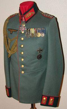 Army Generalmajor Waffenrock Parade Dress Tunic