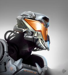 Helmet Design by VertexBee.deviantart.com on @deviantART