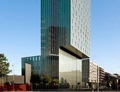 #ARCHITECTURE #ARQUITECTURA #FRANCE #EUROPE #PERRAULT Dominique Perrault (1953, Clermont-Ferrand) 1999-2008: ME BARCELONA HOTEL, BARCELONA, SPAIN