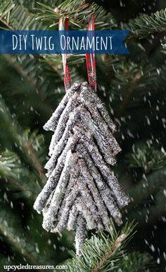 Glam DIY Ornaments via rainonatinroof.com #diyornament #christmas