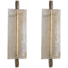 Pair of Sconces in Murano Glass   From a unique collection of antique and modern wall lights and sconces at https://www.1stdibs.com/furniture/lighting/sconces-wall-lights/
