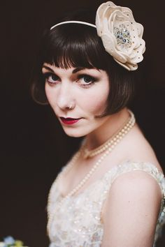 The Modern Day 1920s Inspired Bride, Photography - http://andygaines.com/