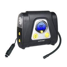 9. AUTO-VOX Automatic – 12V Portable Air Compressor