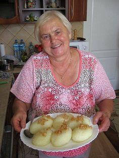 Polish Potato Dumplings Recipe from Gwizdaly Village - Pyzuchy Gwizduchy Polish Potato Dumpling Lithuanian Recipes, Ukrainian Recipes, Hungarian Recipes, Russian Recipes, Slovak Recipes, Polish Dumplings, European Dishes, Czech Recipes, Polish Recipes