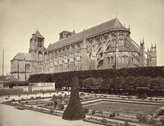 Bourges Cathedral, Perspective View