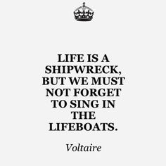 Nor forget that Jesus Christ is the only lifeboat that will reach the shores of heaven.......
