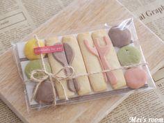 お菓子のラッピング(クッキー)