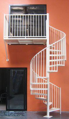 craftsman spiral staircase - Google Search