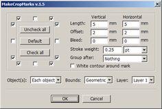 MakeCropMarks.jsx - DTP Scripting